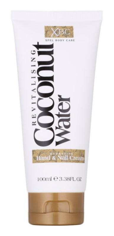 Coconut Water XBC зволожуючий крем для рук та нігтів