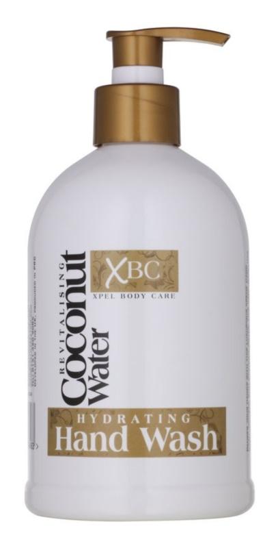 Coconut Water XBC jabón hidratante  para manos