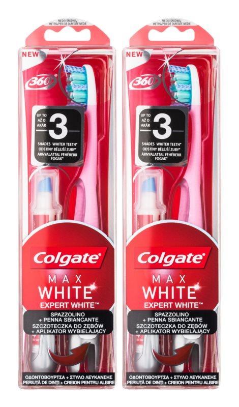Colgate Max White Expert White косметичний набір II.