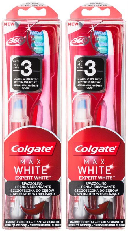 Colgate Max White Expert White kozmetická sada II.