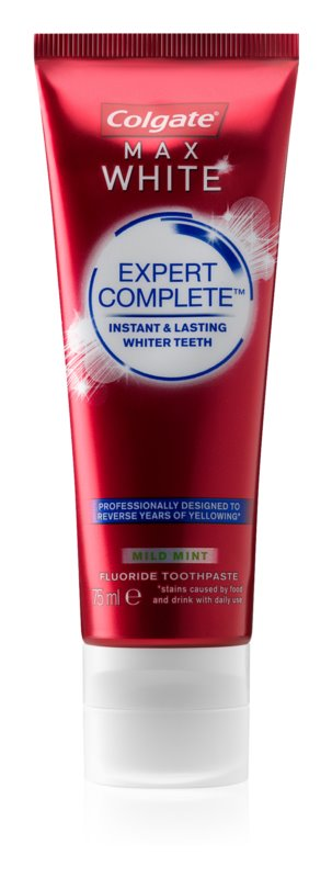 Colgate Max White Expert Complete dentifrice blanchissant