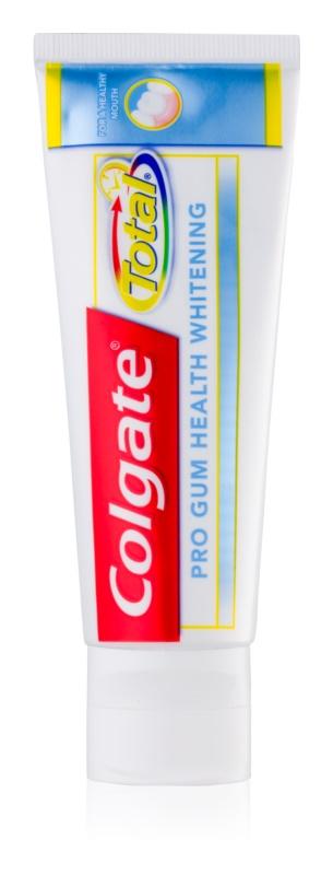 Colgate Total Pro Gum Health Whitening pasta o działaniu wybielającym dla zdrowych zębów i dziąseł