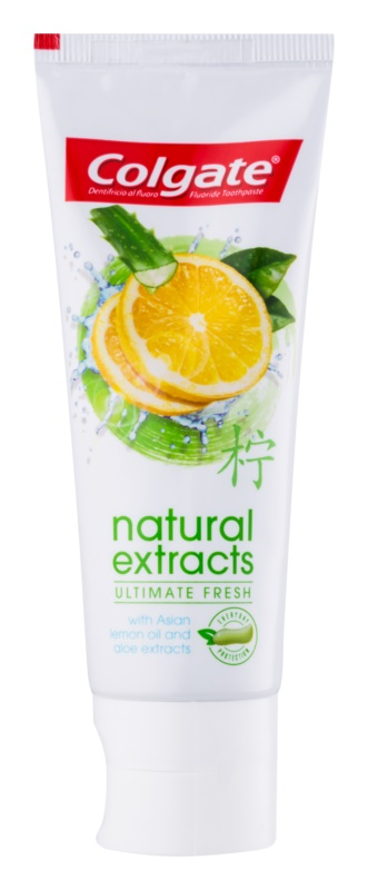Colgate Natural Extract Ultimate Fresh зубна паста