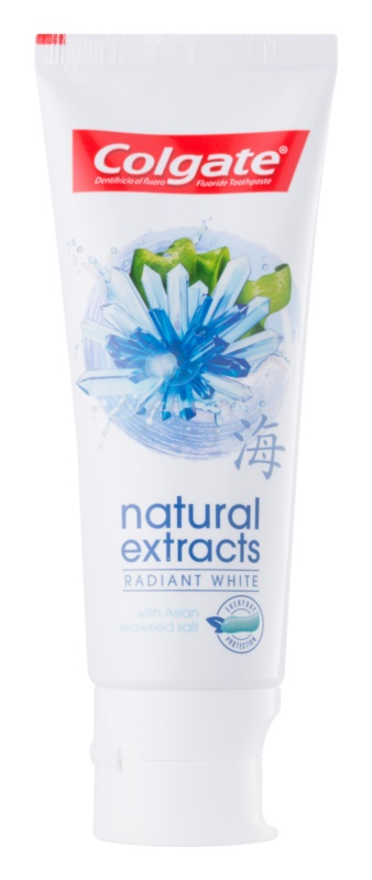 Colgate Natural Extract Radiant White избелваща паста за зъби