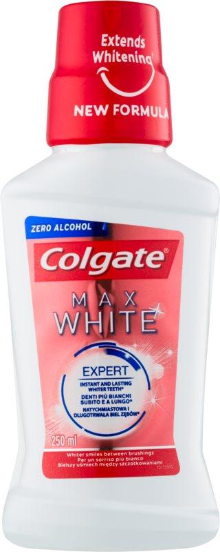 Colgate Max White bělicí ústní voda bez alkoholu