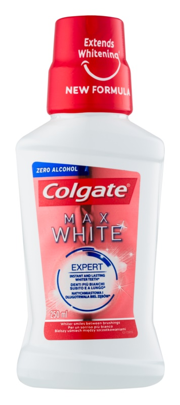 Colgate Max White wybielający płyn do płukania jamy ustnej bez alkoholu