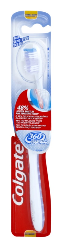 Colgate Sensitive Pro Relief 360° brosse à dents extra soft