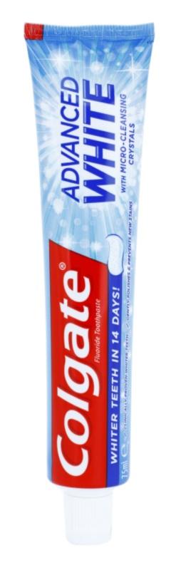 Colgate Advanced White pasta za izbjeljivanje mrlja na zubnoj caklini