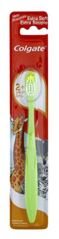 Colgate Kids 2+ Years spazzolino da denti per bambini extra soft