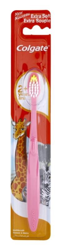 COLGATE KIDS 2+ YEARS zubná kefka pre deti extra soft  66dcef7a3d2