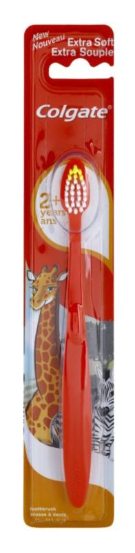 Colgate Kids 2+ Years szczotka do zębów dla dzieci extra soft