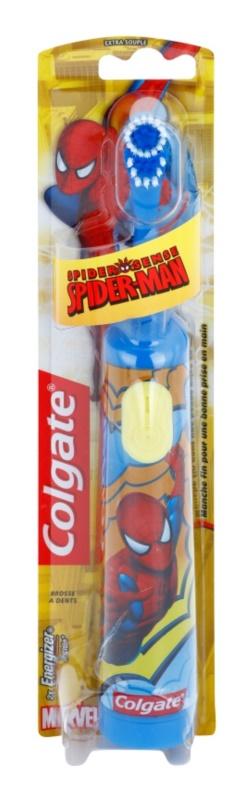 Colgate Kids Spiderman Children's Battery Toothbrush Extra Soft