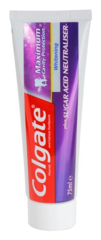 Colgate Maximum Cavity Protection Plus Sugar Acid Neutraliser fehérítő fogkrém