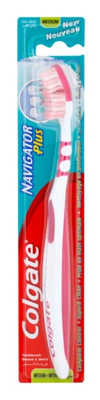 Colgate Navigator Plus szczoteczka do zębów medium