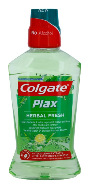 Colgate Plax Herbal Fresh enjuague bucal con efecto antiplaca