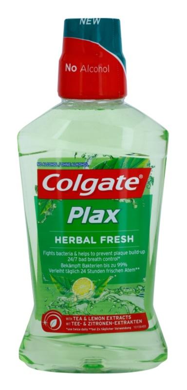 Colgate Plax Herbal Fresh płyn do płukania jamy ustnej przeciw płytce nazębnej