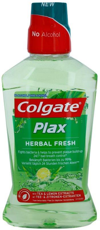 Colgate Plax Herbal Fresh рідина для полоскання ротової порожнини  проти нальоту
