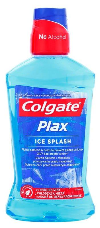 Colgate Plax Ice Splash antibakterielles Mundwasser für frischen Atem