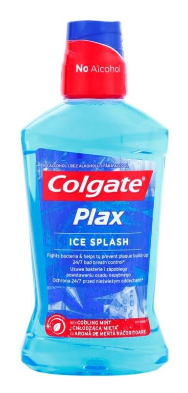 Colgate Plax Ice Splash elixir antibacteriano para hálito fresco