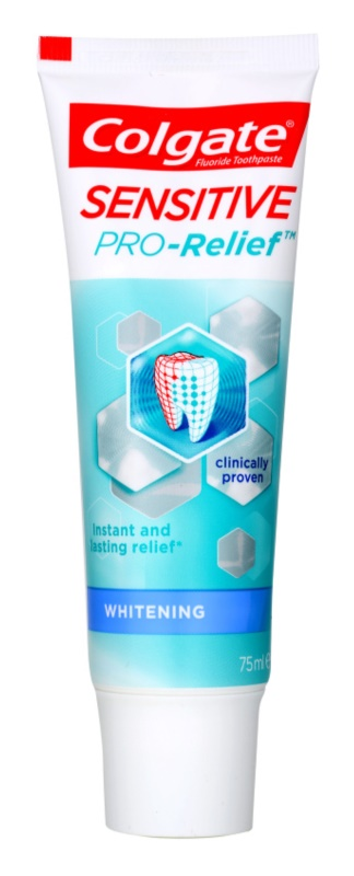Colgate Sensitive Pro Relief + Whitening dentifrice blanchissant pour dents sensibles
