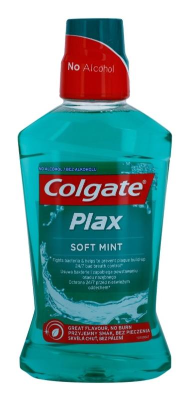 Colgate Plax Soft Mint enjuague bucal con efecto antiplaca