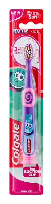 Colgate Smiles Kids zubná kefka s prísavkou pre deti extra soft