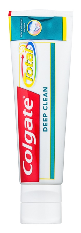 Colgate Total Deep Clean dentifrice dents et cavité buccale parfaitement nettoyées