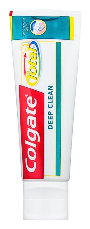 Colgate Total Deep Clean Zahncreme zur gründlichen Zahn- und Mundraumreinigung