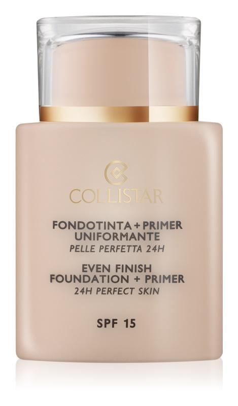 Collistar Foundation Perfect Skin тональний крем та основа під макіяж SPF 15