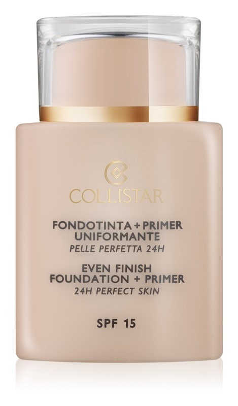Collistar Foundation Perfect Skin foundation and makeup primer SPF 15