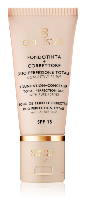 Collistar Total Perfection Foundation and Concealer SPF 15