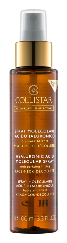 Collistar Pure Actives Hyaluronic Acid Molecular Spray spray à l'acide hyaluronique