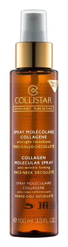 Collistar Pure Actives Collagen arc spray kollagénnel