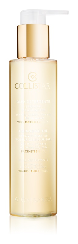 Collistar Make-up Removers and Cleansers huile démaquillante purifiante