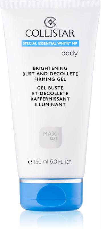 Collistar Special Essential White® HP gel raffermissant buste et décolleté