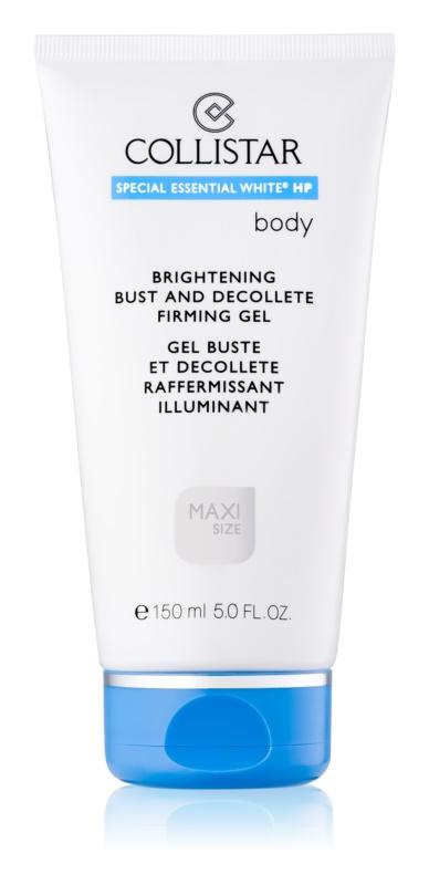 Collistar Special Essential White® HP zpevňující gel na dekolt a poprsí