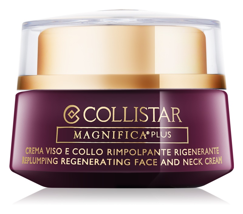 Collistar Magnifica Plus crème raffermissante et lissante visage et cou