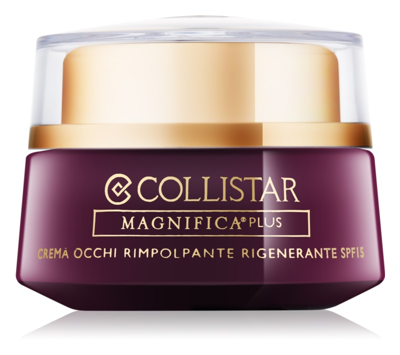 Collistar Magnifica Plus glättende Augencreme SPF 15