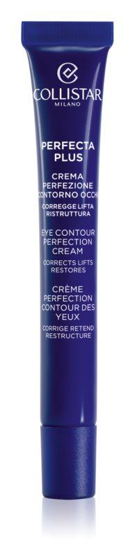 Collistar Perfecta Plus crème illuminatrice yeux  effet raffermissant