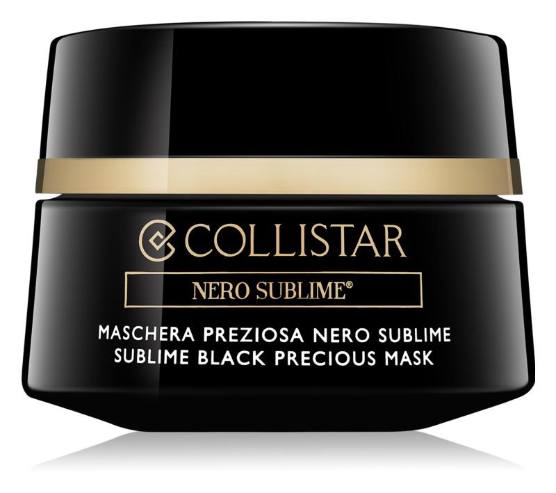 Collistar Nero Sublime® maseczka regenerująca i detoksująca
