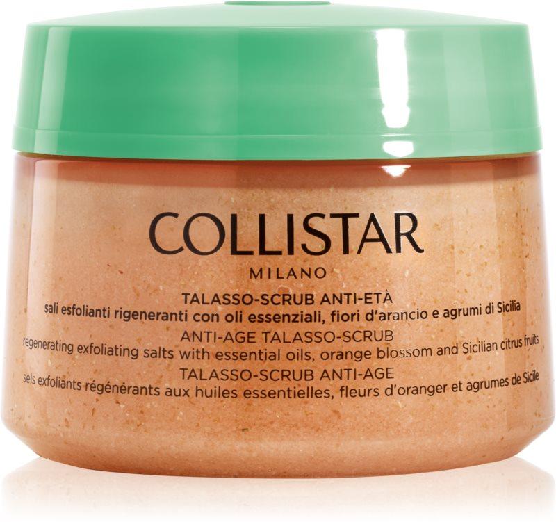 Collistar Special Perfect Body відновлююча сіль-пілінг проти старіння шкіри