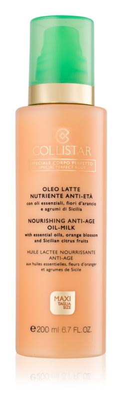 Collistar Special Perfect Body омолоджуюче молочко для тіла з поживною ефекту