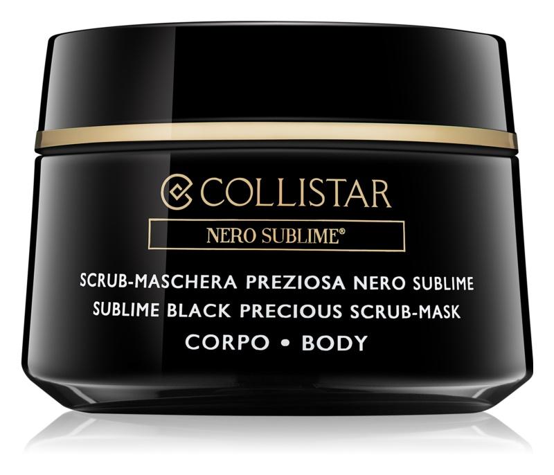 Collistar Nero Sublime® маска-пілінг для тіла