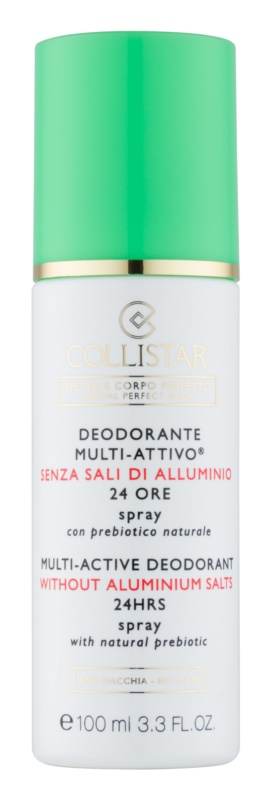 Collistar Special Perfect Body Deodorant Spray Without Aluminum Content 24 h