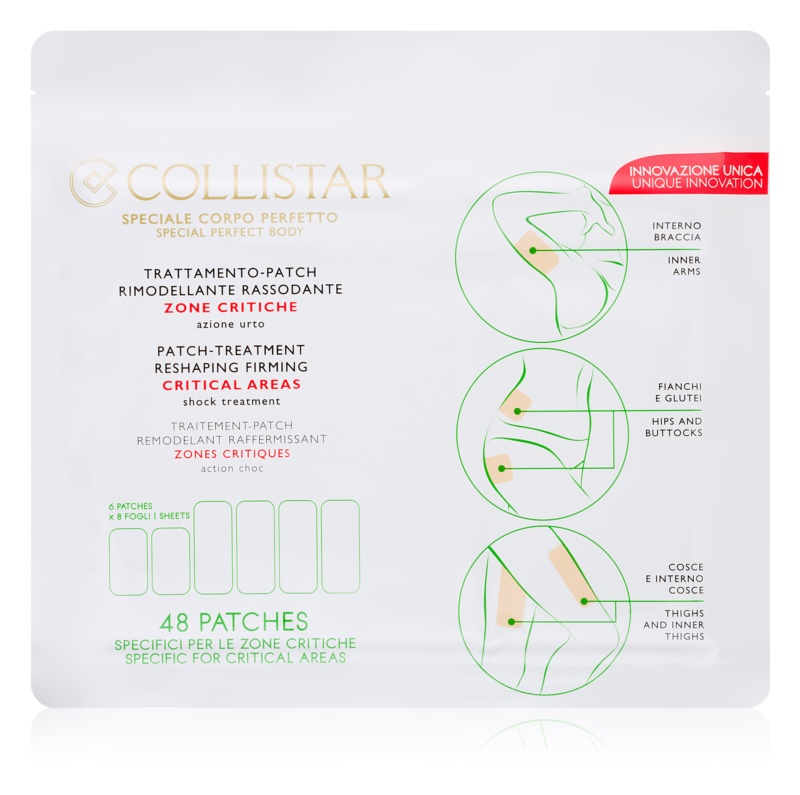 Collistar Special Perfect Body αναδιαμορφωτικά έμπλαστρα για τα  προβληματικά σημεία
