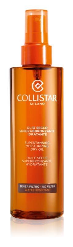 Collistar Sun No Protection olej na opaľovanie bez ochranného faktoru