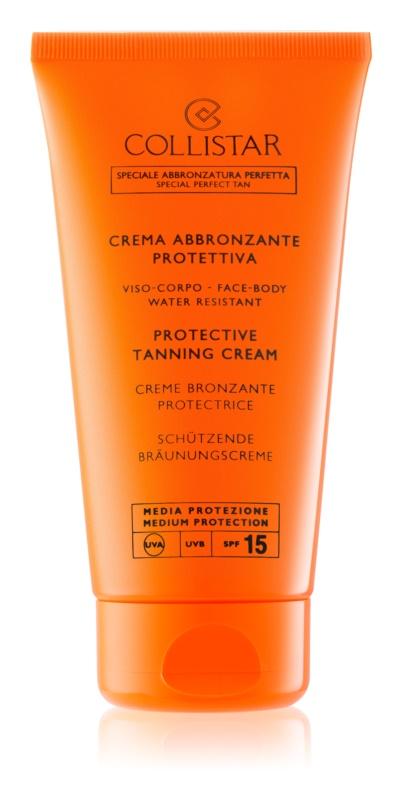 Collistar Sun Protection προστατευτική αντηλιακή κρέμα  SPF15
