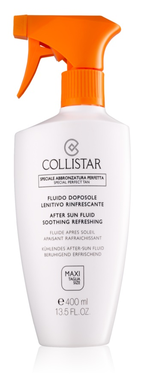 Collistar After Sun upokojujúci telový fluid po opaľovaní