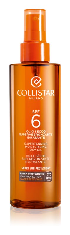 Collistar Sun Protection Dry Sun Oil SPF 6