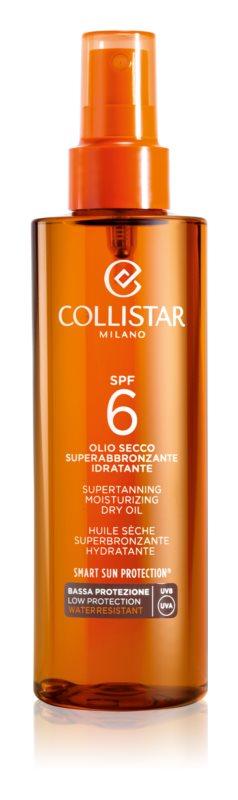 Collistar Sun Protection suchy olejek do opalania SPF 6